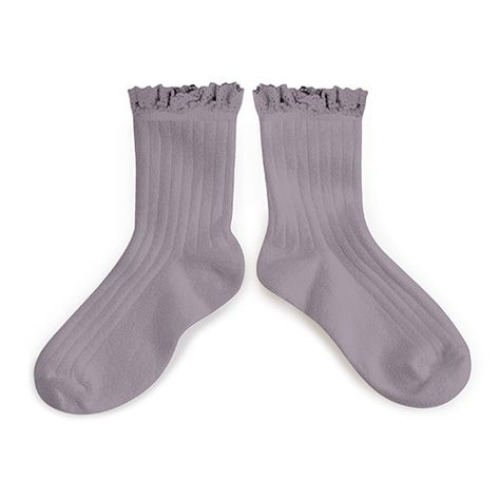 [ 꼴레지앙] LiLi Ankle socks no. 406 Glycine du Japon